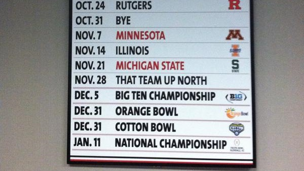 friday football schedule national champ