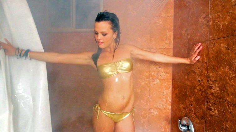 Hot girls in a shower